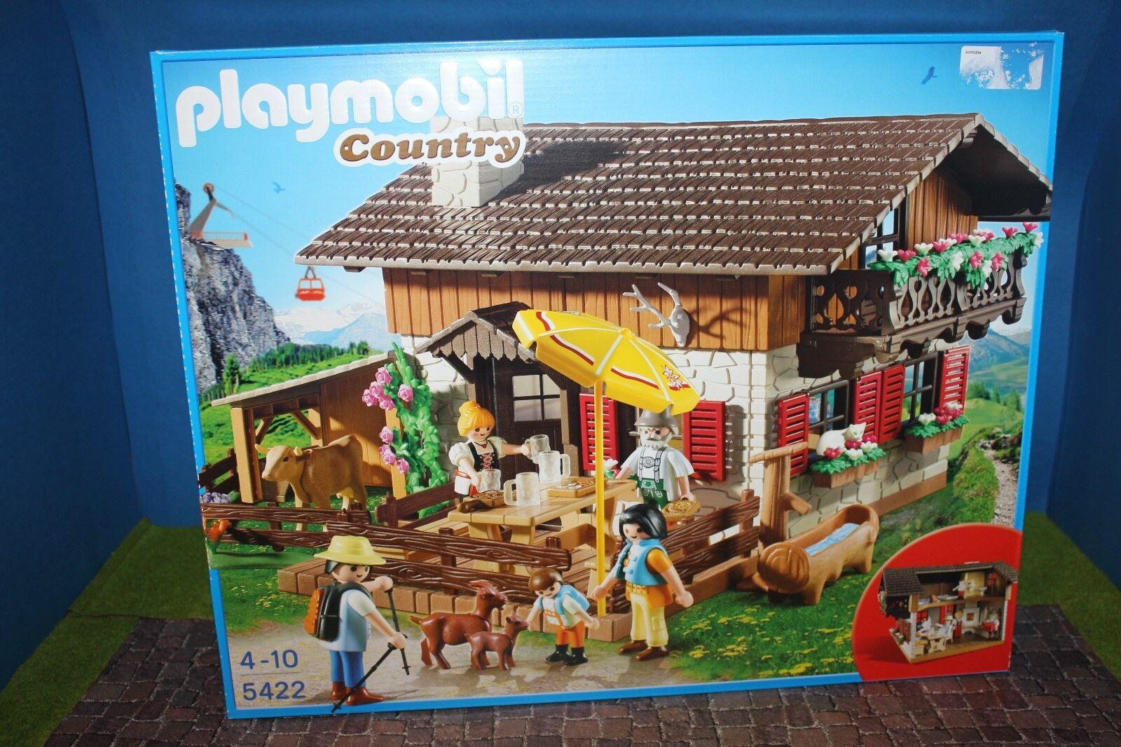 PLAYMOBIL  Country Almhütte 5422  Neu   OVP MISB