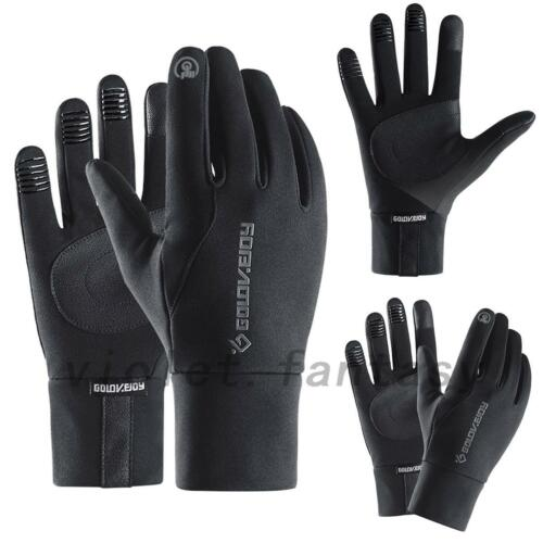NEW Men Women Thermal Reflective Screen Gloves Running Sports Gloves S-XL
