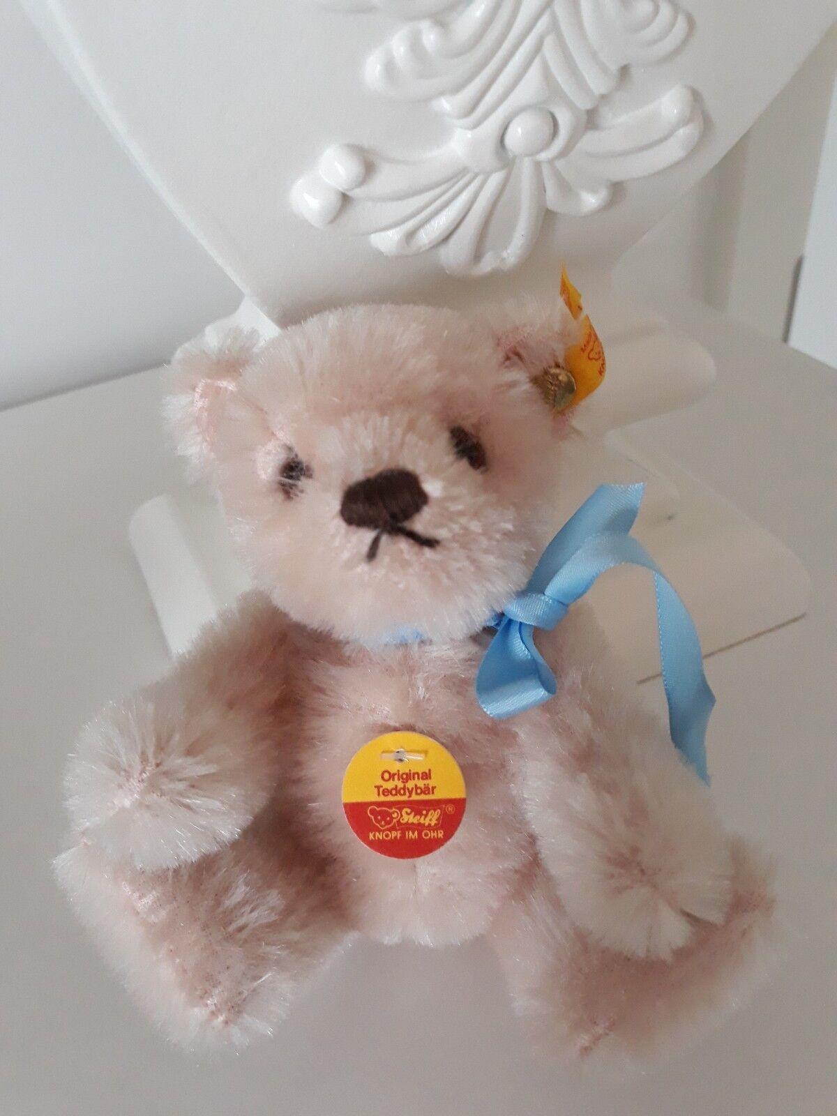 Steiff  Original Miniatur Teddybär Rosa ca. 15 cm cm cm Neu e6115e