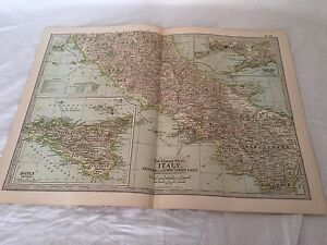 Vintage Italy The Map CENTURY DICTIONARY AND CYCLOPEDIA 1906 ... on map language, map world, map jokes, map google, map math,