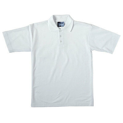 ZECO Boys Long Sleeve Soft Feel Easy Iron School Shirt White Blue 3-15.5 Years
