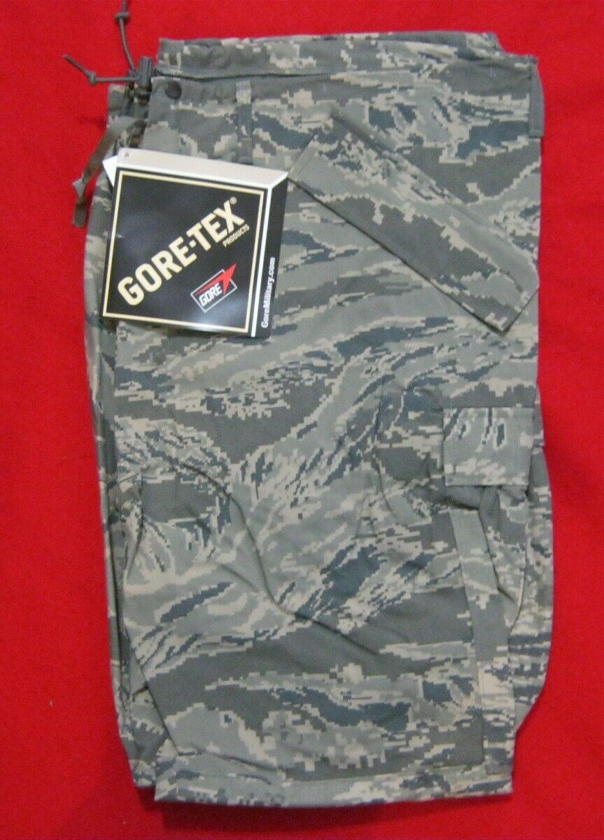 AIR FORCE  GORE TEX TROUSERS APEC TIGER STRIPE CAMO ISSUE ITEMS USA MADE NWT  discounts and more