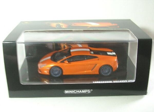Lamborghini Gallardo LP550-2 Valentino Balboni (orange) 2009  1 43