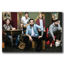 Art Poster 24x36 27x40 A Day To Remember Rock Music Band T-183