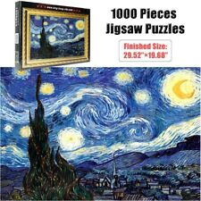 TOMAX 1000 piece Jigsaw puzzles Vincent Van Gogh The Starry Night Great puzzle