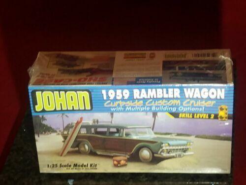 Johan 1959 Rambler Wagon Curbside Custom Cruiser Model Kit for sale online    eBay