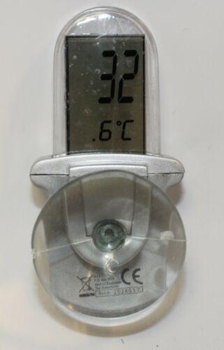 GRUNDIG Thermometer Außenthermometer Zimmerthermometer LR44 1 Fensterthermometer