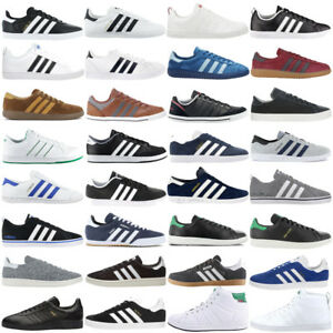 Details zu adidas Herren Sneaker Schuhe Freizeit Turnschuhe Retro Leder Textil SALE NEU