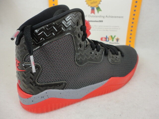 Nike Air Jordan Spike Forty, Bred, Black   Fire Red   Cement Grey, 807541 002, 9