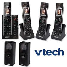 2 Video Porch Doorbell Cameras 4 Cordless Phones IS7121-2 + 2 IS7101 + IS741