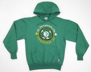 finest selection 04d28 55541 Details about NEW! Majestic Therma Base Hoodie Pittsburgh Irish Theme  Steelers Green Medium
