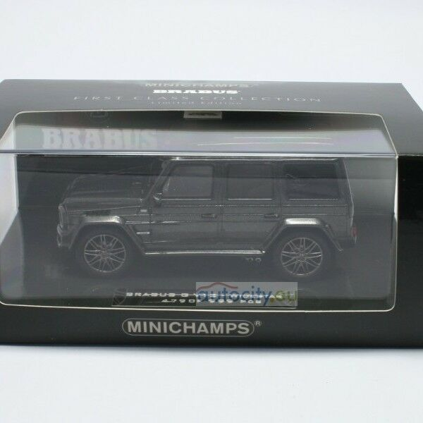 Minichamps brabus g v12 - widestar 4790f grau 437032300