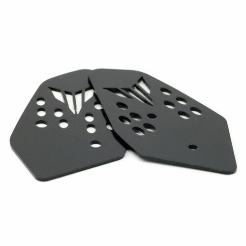 Foot Peg Heel Plates Guard For YAMAHA MT-07//MT-07 Tracer//FZ-07 2014-2020 15 16