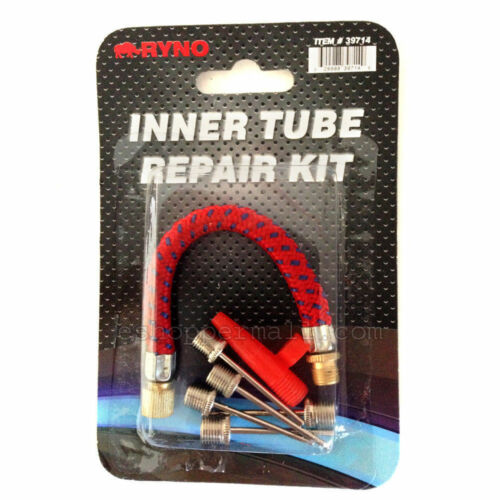 Bicycle Bike Hand Air Pump Tube Hose /& Needles Head Replacement Set 7pc AD-BT-26