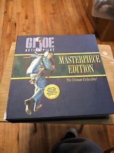 Gi Joe Action Marine Masterpiece Edition Variante De Cheveux Brun Foncé Dans La Boîte De Luxe