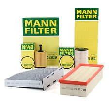 MANN Inspektionskit Filterpaket Audi A3 8P Seat Skoda VW Golf V VI 1.9/2.0TDI
