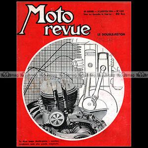 MOTO-REVUE-N-1221-d-CECCATO-WILMAN-WOOLER-FLAT-4-GUZZI-250-AIRONE-BMW-R67-2-1955
