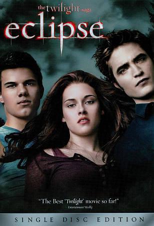 The Twilight Saga: Eclipse (DVD, 2010)