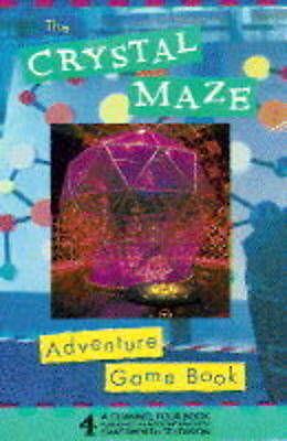 Crystal Maze Adventure Gamebook,ACCEPTABLE Book