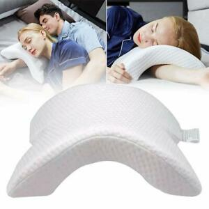 Arm Cuddling Curved Memory Foam Pillow Detachable Slow Rebound Tunnel Shaped