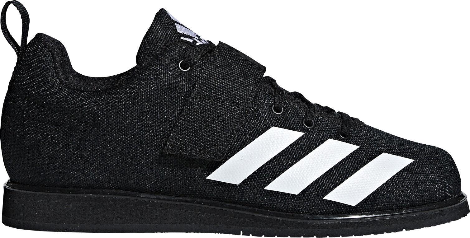 Adidas Powerlift 4.0 Hombres Zapatos de Halterofilia-Negro