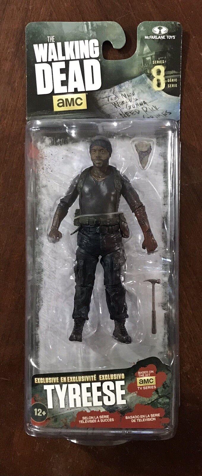 AMC The Walking Dead McFarlane Series 8 TYREESE Target Exclusive - MINMP