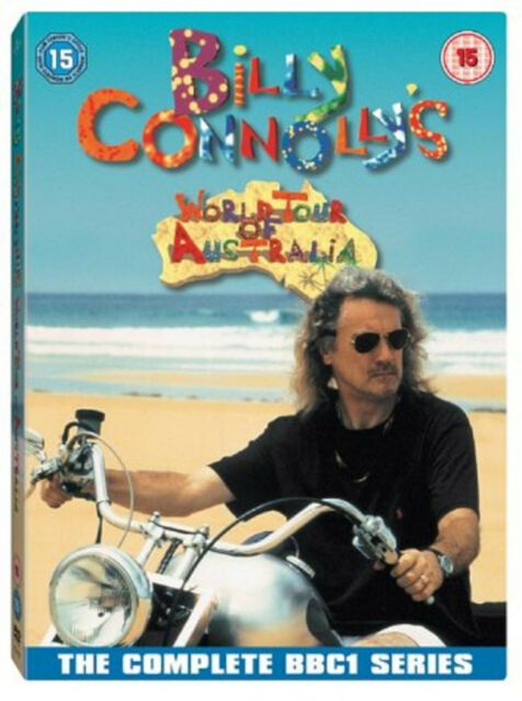 BILLY CONNOLLYS WORLD TOUR OF AUSTRALIA DVD Stand Up Comedy UK Rel New Sealed R2