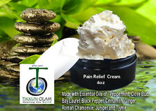 All Natural Pain Relief Cream - 4oz Essential Oils Synergy Blend