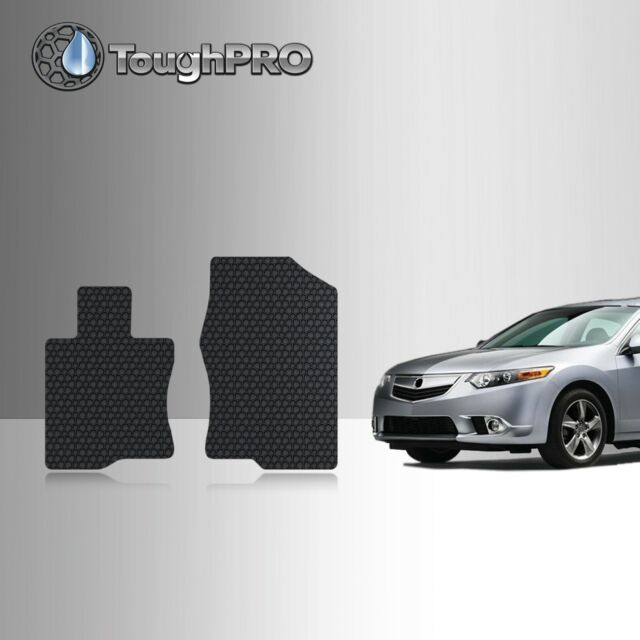ToughPRO Front Mats BLACK For Acura TSX All Weather Custom
