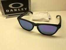 4a04cc223c7 Oakley Frogskins 24-298 Matte Black Sunglasses W Violet Iridium Lens -MINT!  Oakley Frogskins 24-298 Matte Black Sunglasses W Violet Iridium Lens