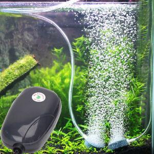 Aquarium Pompe à Air à Faible Bruit Haute Puissance Avec Un Uk Plug £ 9.49 24hr Dispatch U.k.-afficher Le Titre D'origine
