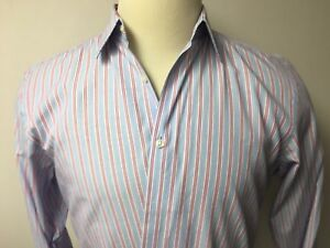 Shirts Boss Hugo Boss 100% Cotton Men's Dress Shirt Size 16 1/2 Fashionable Patterns Clothing, Shoes & Accessories