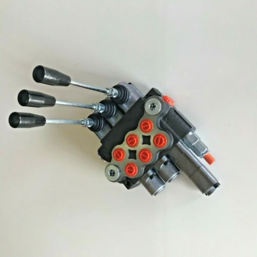 Hydraulikventil Handsteuerventil 40L Monoblock 3xDW,1 davon mit Schwimmstellung