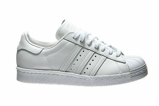 Adidas Superstar 80's White Leather Trainers Comfortable The most popular shoes for men and women
