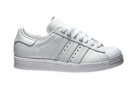 Adidas Superstar 80 80 80 cuero blanco formadores cómodo el calzado más popular para los hombres y las mujeres f3e09f
