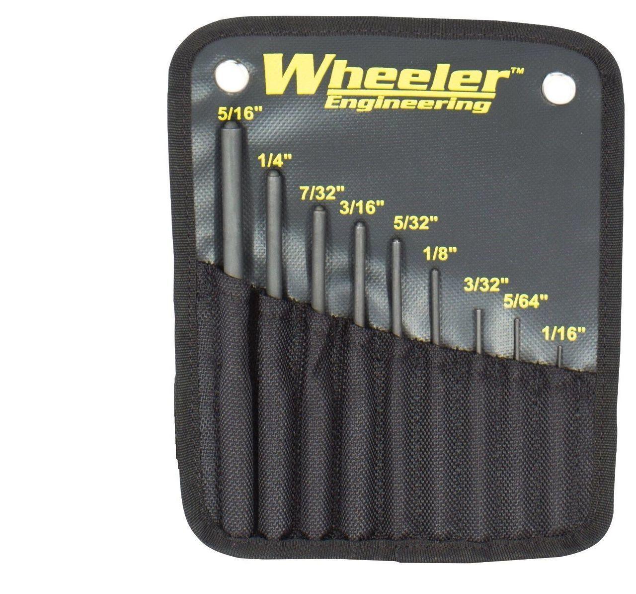 Wheeler Roll Pin Punch Set 9 PC 204513