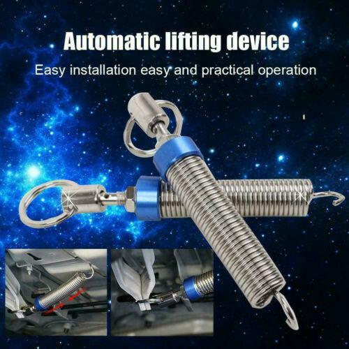 2Pcs dispositivo de resorte de elevación automático de acero inoxidable tapa del tronco de arranque auto de apertura