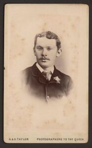 Fashionable-Young-Victorian-Gentleman-Vintage-CDV-Photograph-by-A-amp-G-Taylor