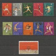 Sport - China - 903-913 gestempelt used 1965
