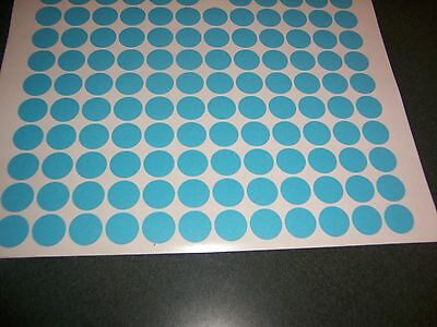 1296 PACIFIC BLUE Blank rummage garage yard sale stickers labels price tags