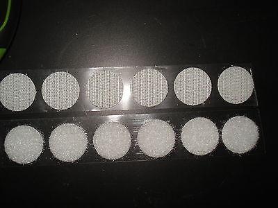 Pastille scratch agrippante diamètre 45 mm noir adhésif lot de 20 pièces
