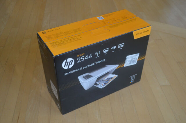 Brand New HP DeskJet 2544 Wireless All-in-One Color Inkjet Printer w//Inks /&Cable