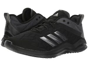 376abf268c4376 Adidas Speed Trainer 4 Men s Baseball Turf Trainer Shoes Black Black ...
