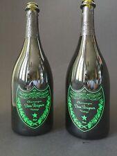2x Dom Perignon Luminous Label Vintage 2004 0,75l Flasche Leer Deko Champagner