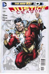 DC 2012 Movie  NM Justice League #0 Seven Deadly Sins  SHAZAM