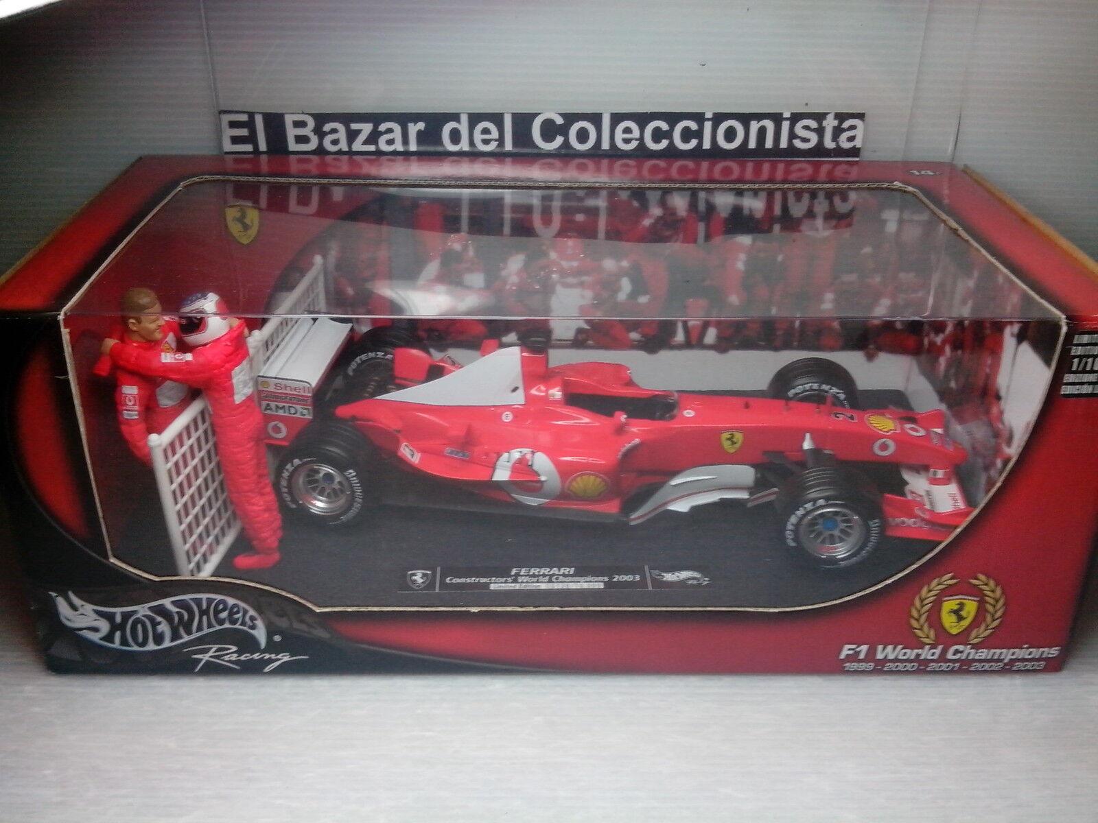 1:18 Ferrari F1 F2003 Schumacher 2003 World Constructor Champions - HW - 3L050