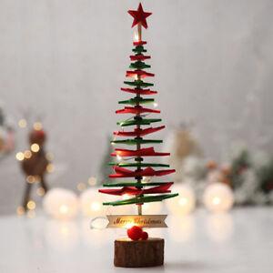 Merry-Christmas-Tree-Desk-Table-Decor-Festival-Party-Ornaments-Xmas-Gifts-DIY