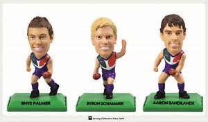 3 2009 Select AFL GOLD Figurine picture card Team Set Fremantle