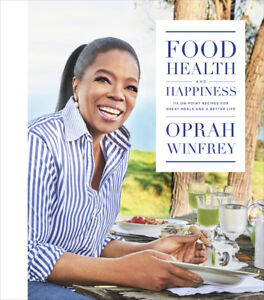 NEW-Food-Health-and-Happiness-By-Oprah-Winfrey-Hardcover-Free-Shipping