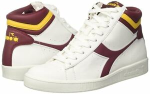 DIADORA GAME P HIGH scarpe sportive donna sneakers casual bianco ... 0223b4f2420